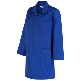 Polycotton Lab Coat With External Pockets