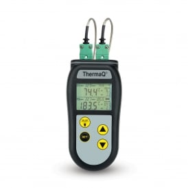 ThermaQ 2 Channel K Type Thermocouple Thermometer