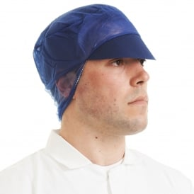 Snood Cap Non-Woven With Peak (pack of 500)