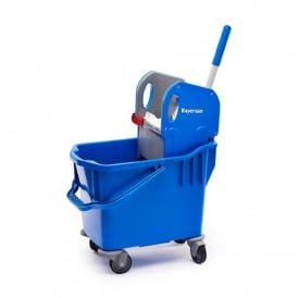 Kentucky Mop Bucket With Wringer Blue