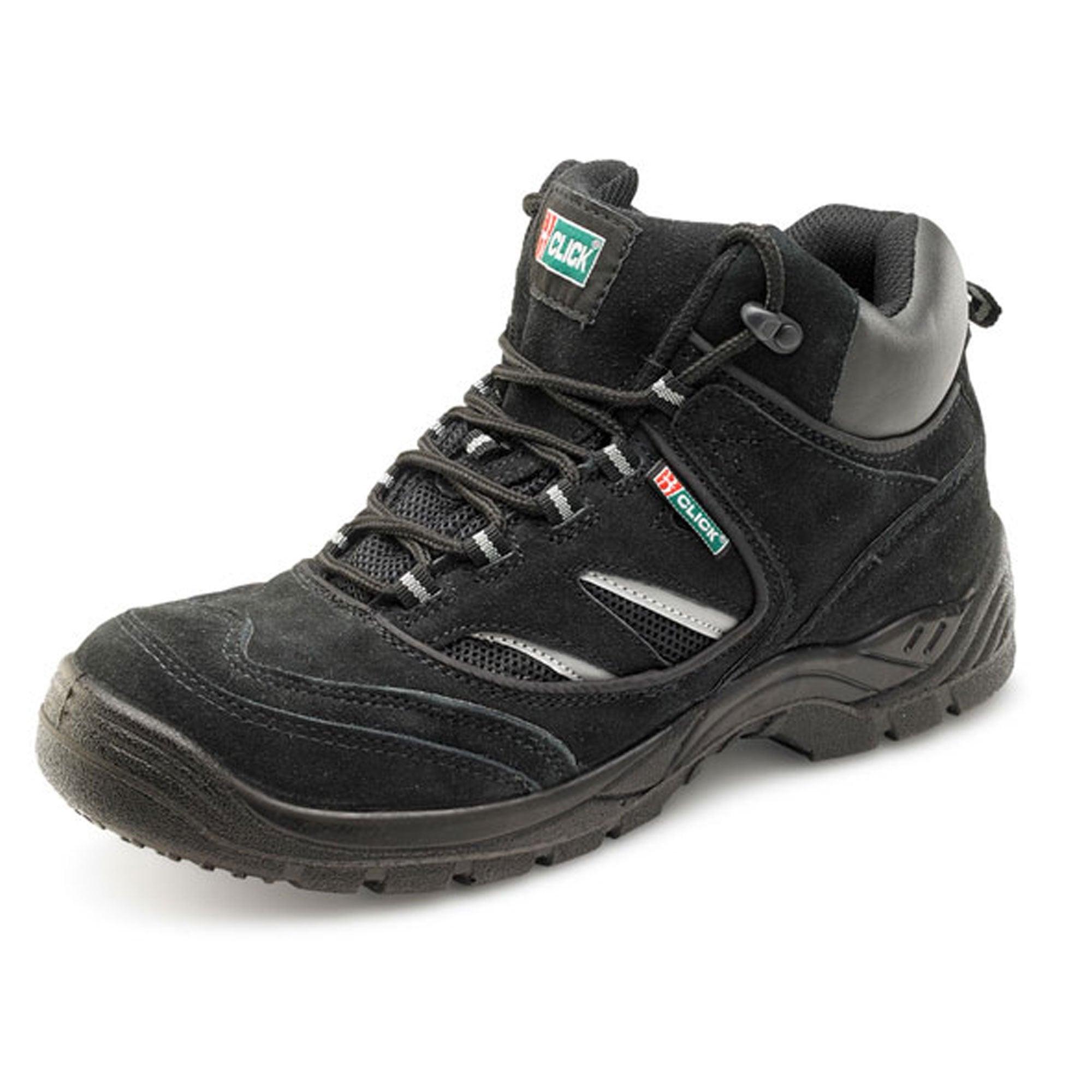 Midsole Trainer Safety Boot – Black
